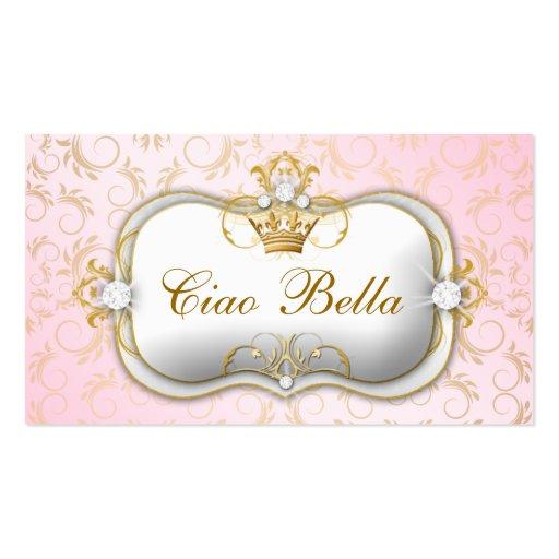 311 Ciao Bella Golden Divine Pink Business Card