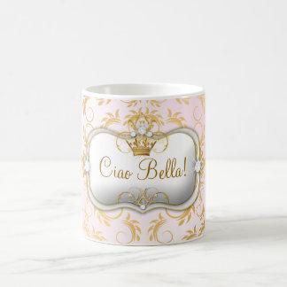311 Ciao Bella Golden Divine Pink Coffee Mug