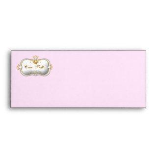 311-Ciao Bella Golden Divine Pink Envelope