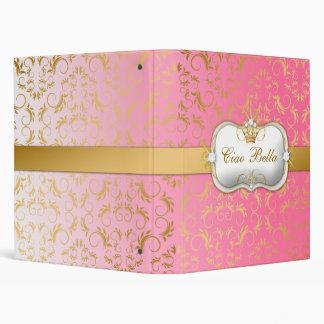 311 Ciao Bella Golden Divine Pink Fade Binder
