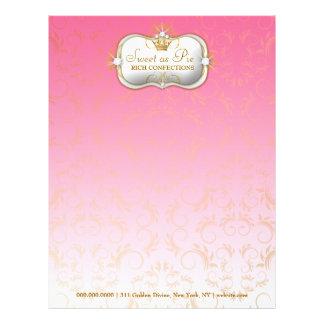 311 Ciao Bella Golden Divine Pink Fade Letterhead