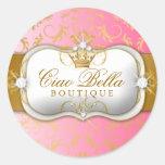 311 Ciao Bella Golden Divine Pink Fade Sticker