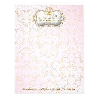 311 Ciao Bella Golden Divine Pink Letterhead