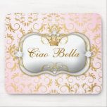 311 Ciao Bella Golden Divine Pink Mouse Pad