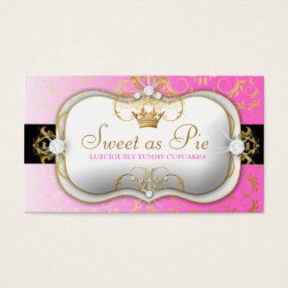 311 Ciao Bella Golden Divine PINK PINK Business Card