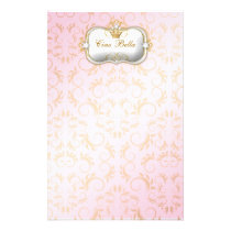 311 Ciao Bella Golden Divine Pink Stationery