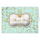 311 Ciao Bella Golden Divine Pink Thank you BLUE Card