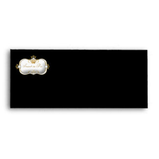311-Ciao Bella Golden Divine Rich Black Envelopes