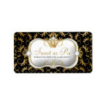 311-Ciao Bella Golden Divine Rich Black Address Label