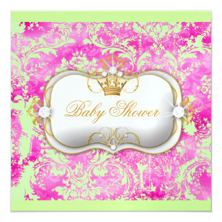 311 Ciao Bella HotPink Lime Vintage Chic Ice Paper Card