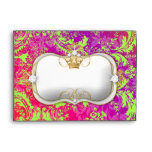 """311 Ciao Bella """"Lime Crush"""" Vintage Chic Envelopes"""