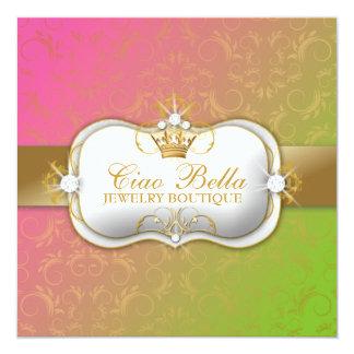 311-Ciao Bella Lollipop | Gift Certificate 5.25x5.25 Square Paper Invitation Card