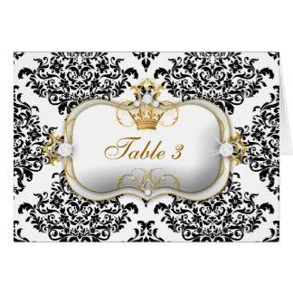 311 Ciao Bella & Lovey Dovey Damask Stationery Note Card