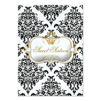 311 Ciao Bella & Lovey Dovey Damask Ice 5x7 Paper Invitation Card