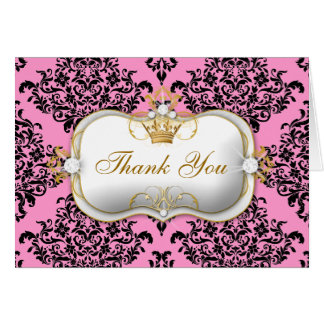 311 Ciao Bella & Lovey Dovey Damask Pink Card