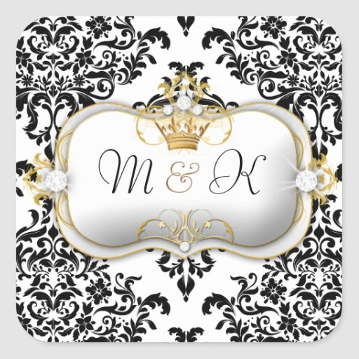 311 Ciao Bella & Lovey Dovey Damask Stickers