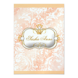 """311 Ciao Bella """"Peaches & Cream"""" Vintage Chic Card"""