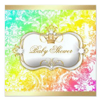 """311 Ciao Bella """"Tropical Dream"""" Vintage Chic 5.25x5.25 Square Paper Invitation Card"""