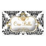 311 Ciao Bella y damasco precioso de Dovey Tarjetas De Visita