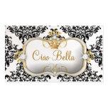 311 Ciao Bella y perla preciosa del damasco de Dov Plantillas De Tarjetas De Visita