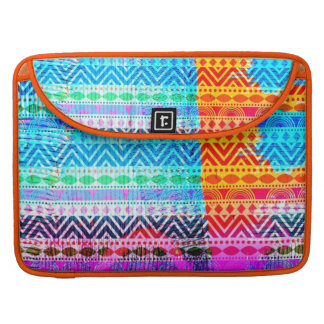 311 Colorful Aztec Texture Sleeves For MacBooks