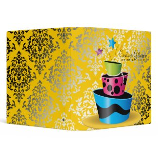 311 Couture Gâteaux Multi Yellow binder