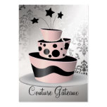 311 Couture Gâteaux Premium Pearl Paper Large Business Cards (Pack Of 100)