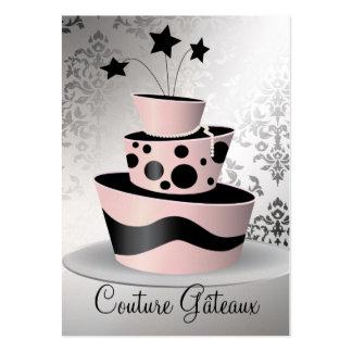 311 Couture Gâteaux Premium Pearl Paper Business Card Templates