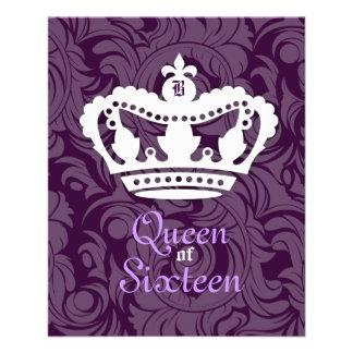 311-Crown Couture Queen of Sixteen Flyer