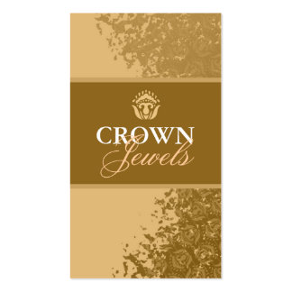 311 CROWN JEWELS GOLD Double-Sided STANDARD BUSINESS CARDS (Pack OF 100)