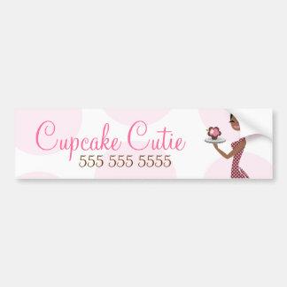 311 Cupcake Cutie African American Bumper Sticker