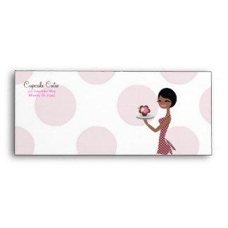 311-Cupcake Cutie - African American Envelopes