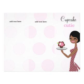 311 Cupcake Cutie Ethnic Brochure Personalized Flyer