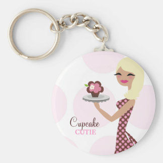 311-Cupcake Cutie Light Blond Wavy Key Chain