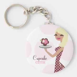 311-Cupcake Cutie Light Blond Wavy Key Chain