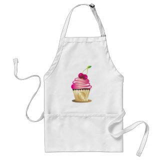 311-Cupcake Paradise Monogram Adult Apron