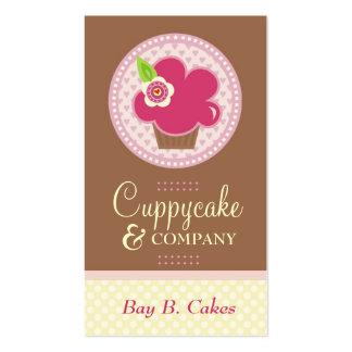 311 CUPPYCAKE CUTIE w FLOWER BUSINESS CARD