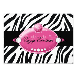 311-Custom Cozy Couture Personalized Announcements