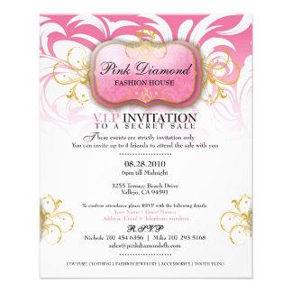 311-Custom Pink Diamond Fashion House Flyer