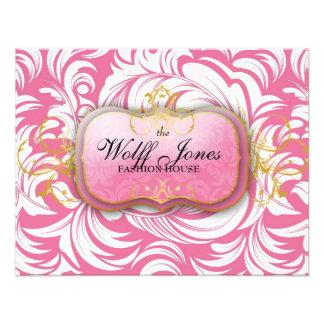 311-Custom Wolff Jones Compliment Card Custom Invitations