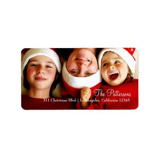 311 Customizable Christmas Photo Label...