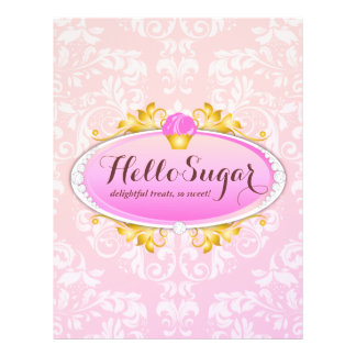 311 Customizable Hello Sugar Bakery Flyer