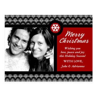 311-Customizable Photo Christmas Card Postcards