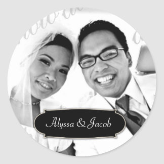 311-Customizable Photo Sticker w/ Name Plate