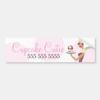 311 Daisy Cupcake Cutie Wavy Blonde Bumper Sticker