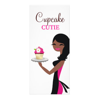 311 Daisy the Cupcake Cutie African American Rack Card