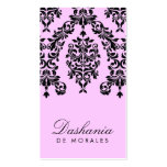 311-Dashing Damask   Cotton Candy Double-Sided Standard Business Cards (Pack Of 100)