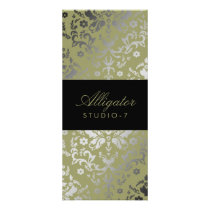 311 Dazzling Damask Alligator Rack Card