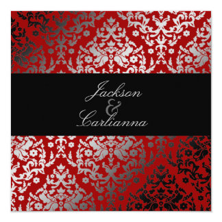 311-Dazzling Damask Cherry Card
