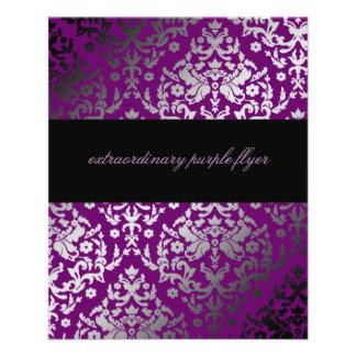 311-Dazzling Damask Extraordinary Purple Flyer